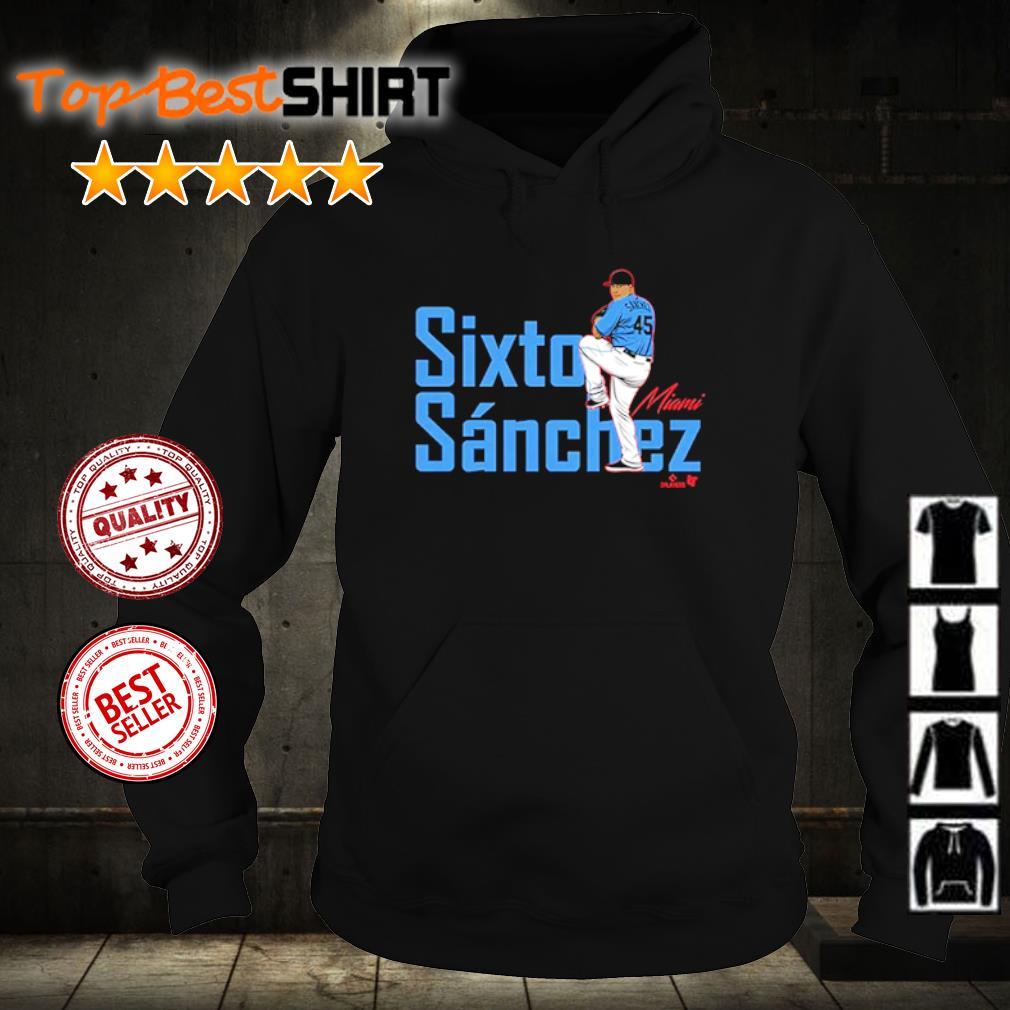 Sixto Sanchez Miami Marlins s hoodie