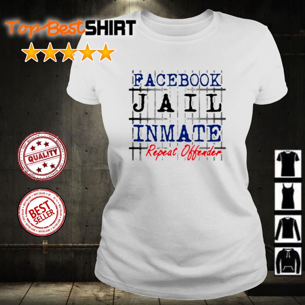 Facebook jail inmate repeat offender s ladies-tee