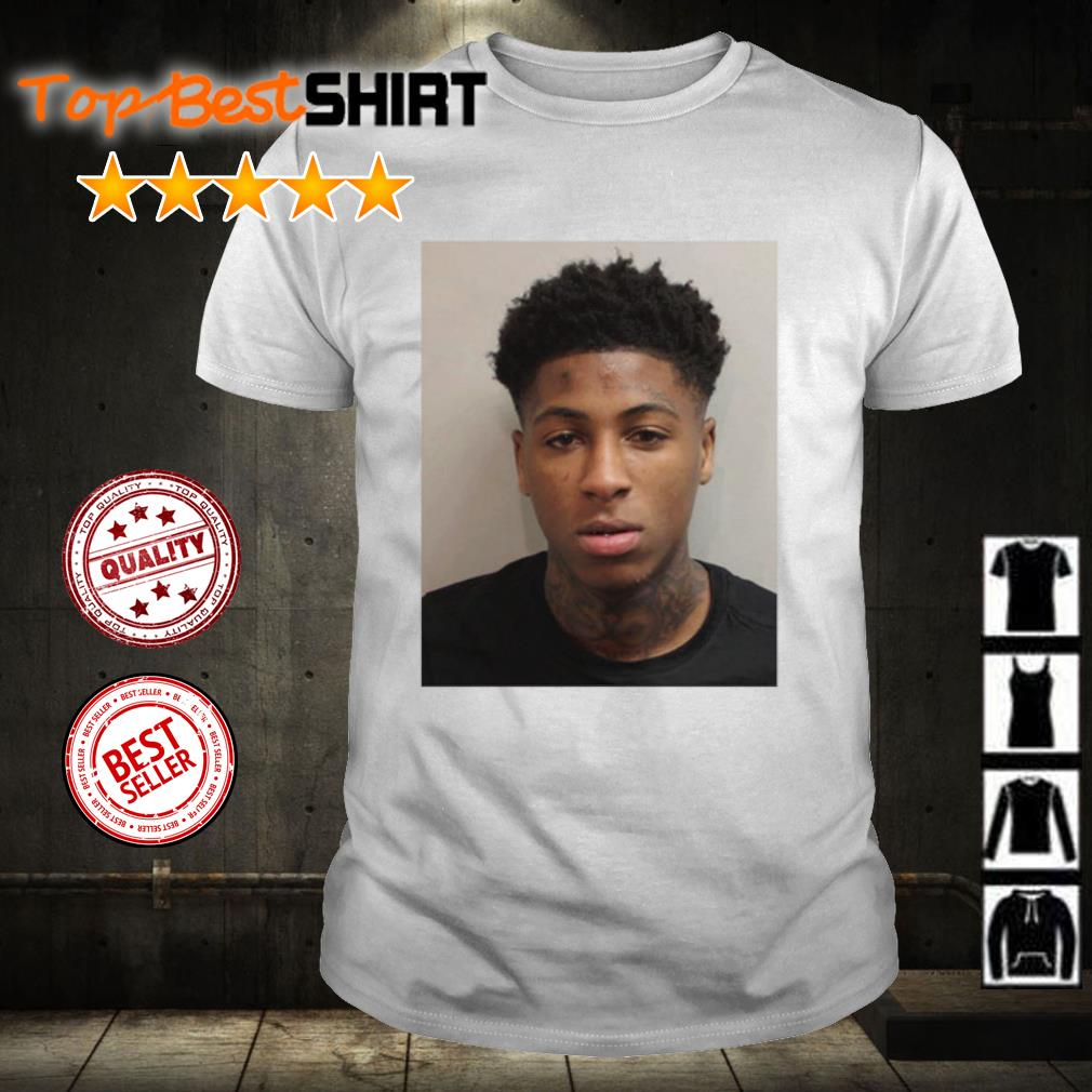 NBA YoungBoy Mugshot shirt