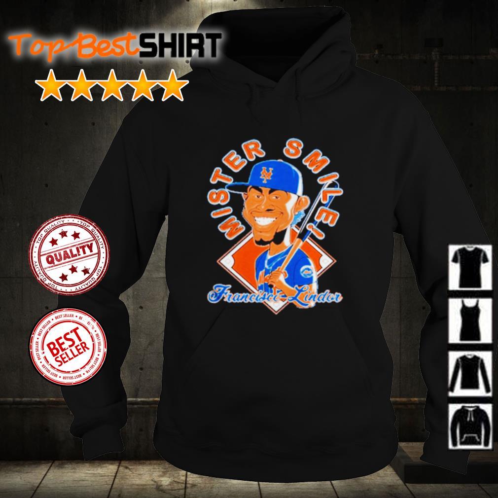 New York Mets Mr. Smile Francisco Lindor Posters s hoodie