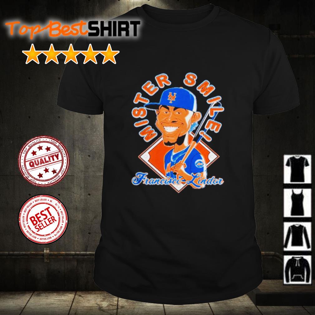 New York Mets Mr. Smile Francisco Lindor Posters shirt