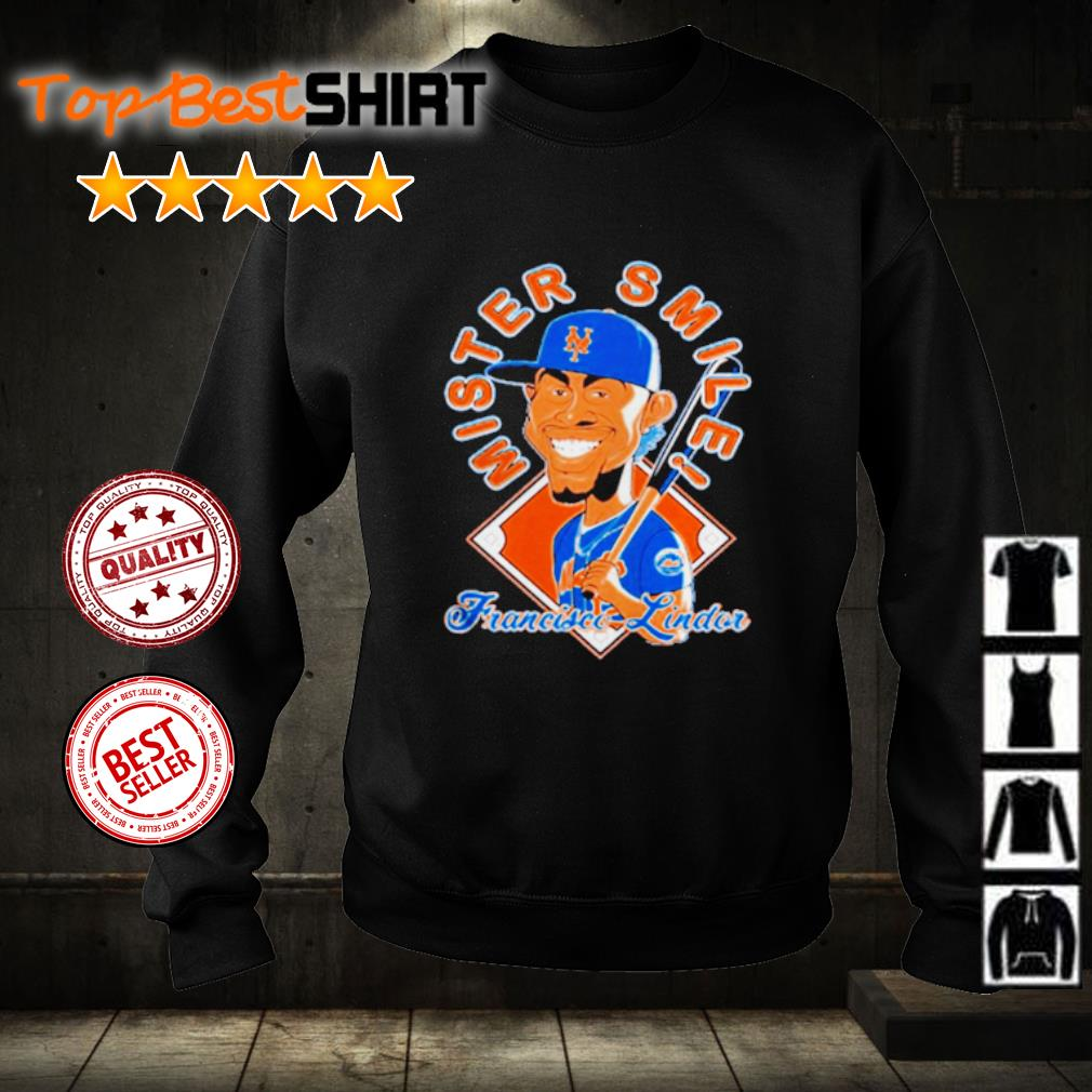 New York Mets Mr. Smile Francisco Lindor Posters s sweater