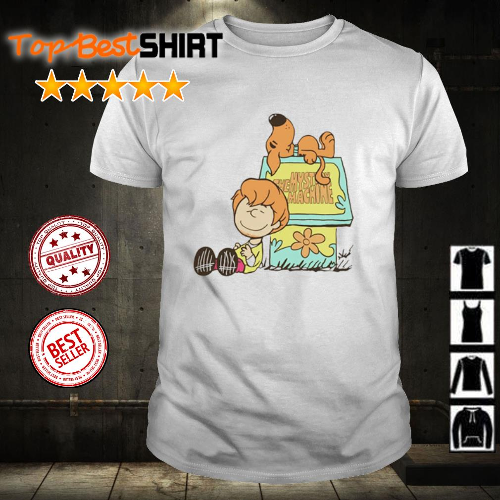 Scooby-Doo and Shaggy Rogers the mystery machines shirt