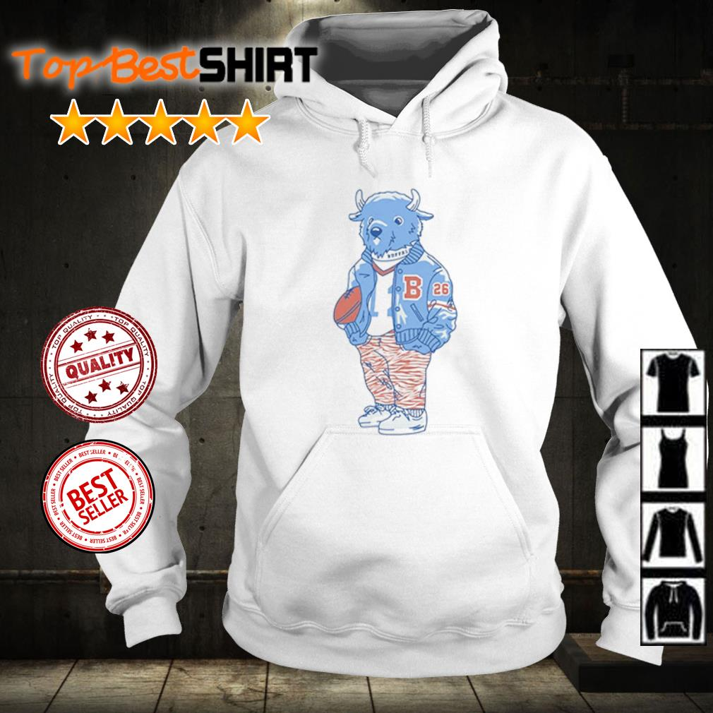 Sporting Buffalo s hoodie