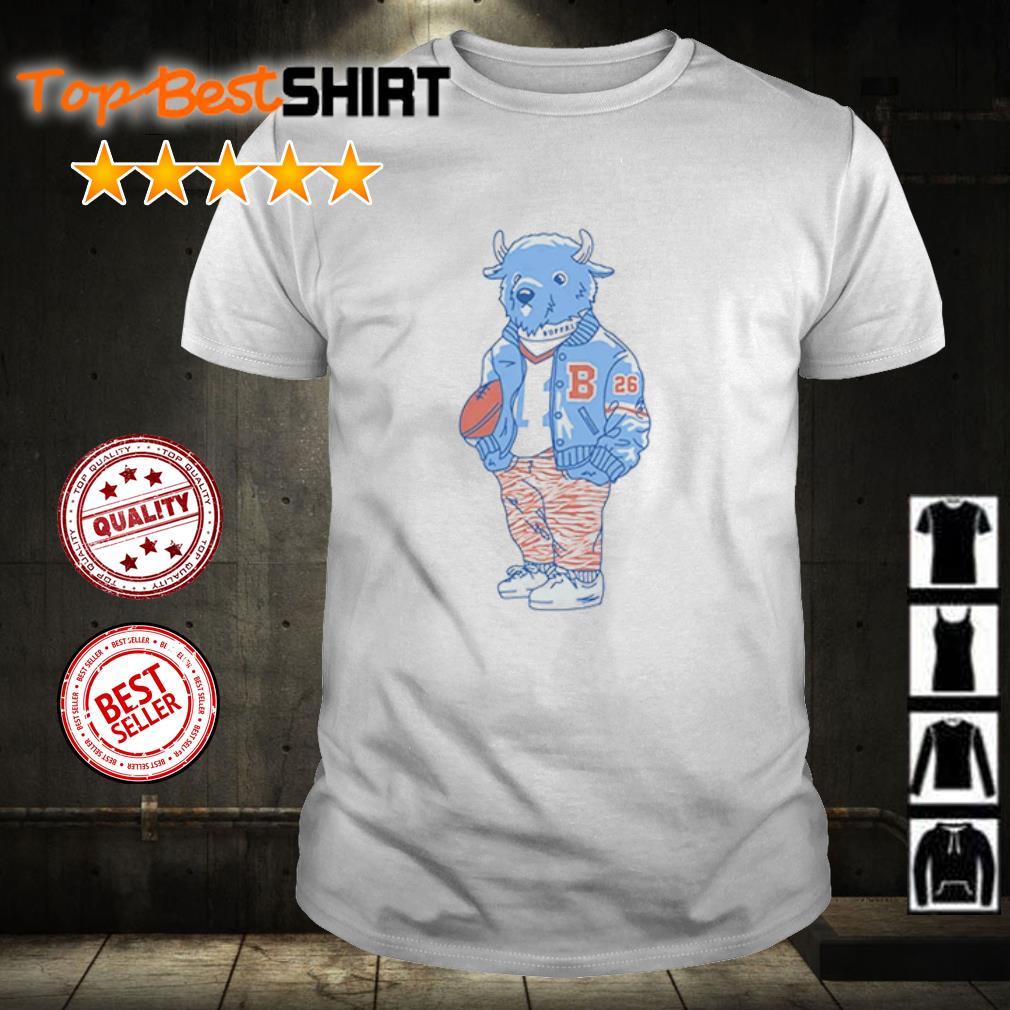 Sporting Buffalo shirt