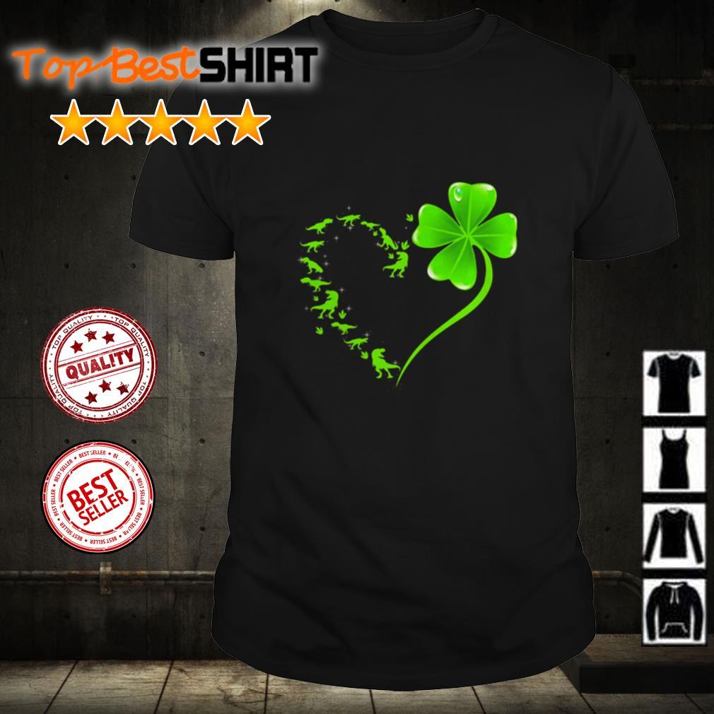 Heart happy St Patrick's day shirt