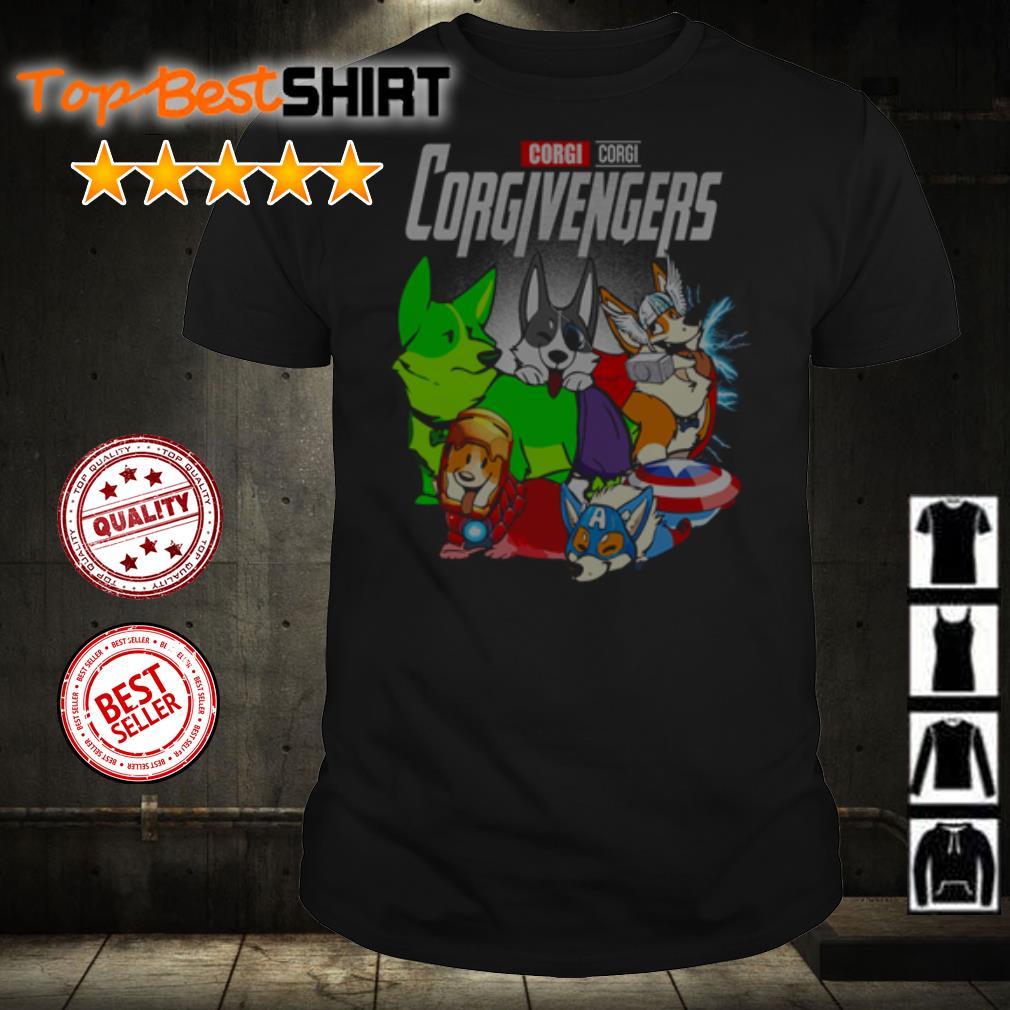 Corgi Studio Corgivengers shirt