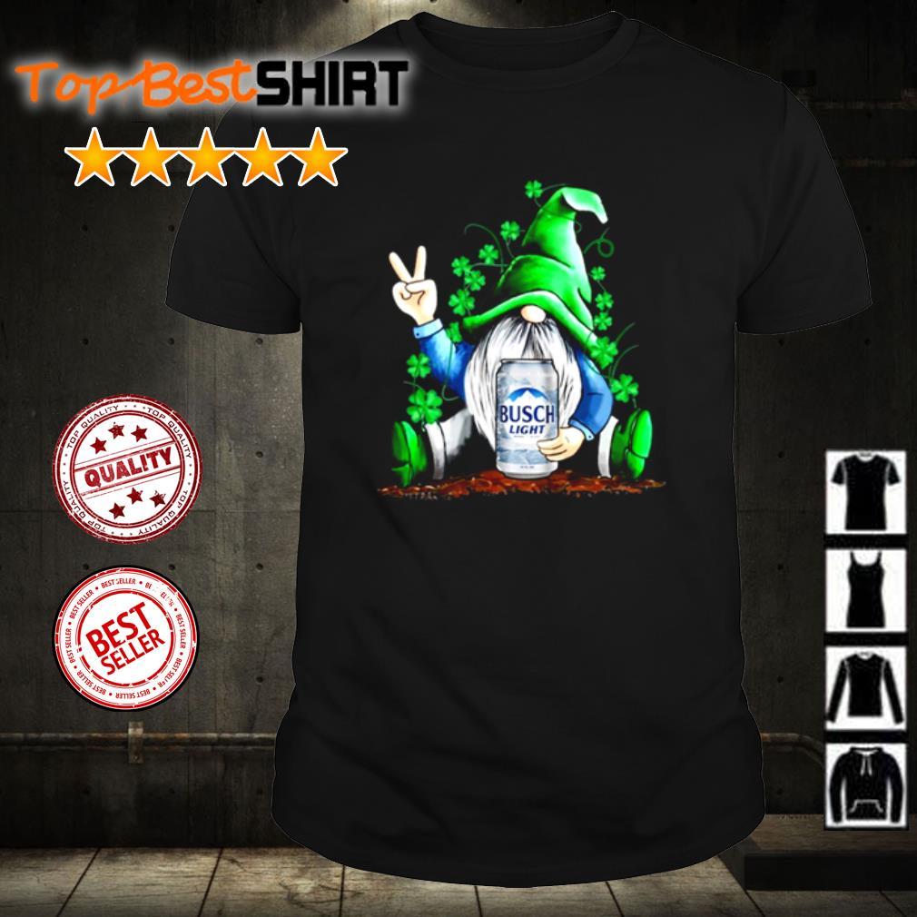 Gnome love Busch Light Beer shirt
