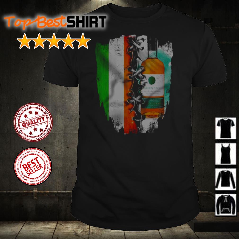 Ireland Flag Green Spot Whiskey shirt