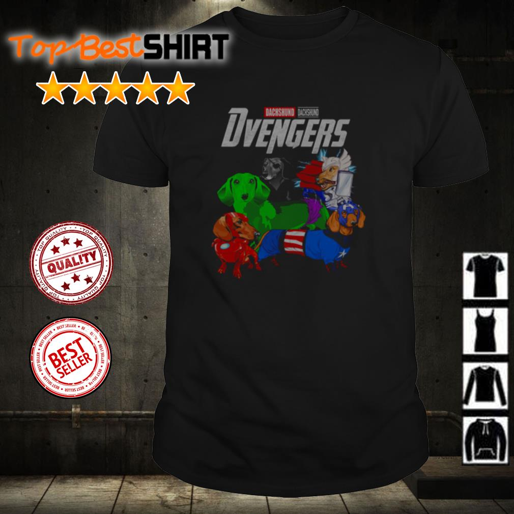 Dachshund Studio Dvengers Endgame shirt