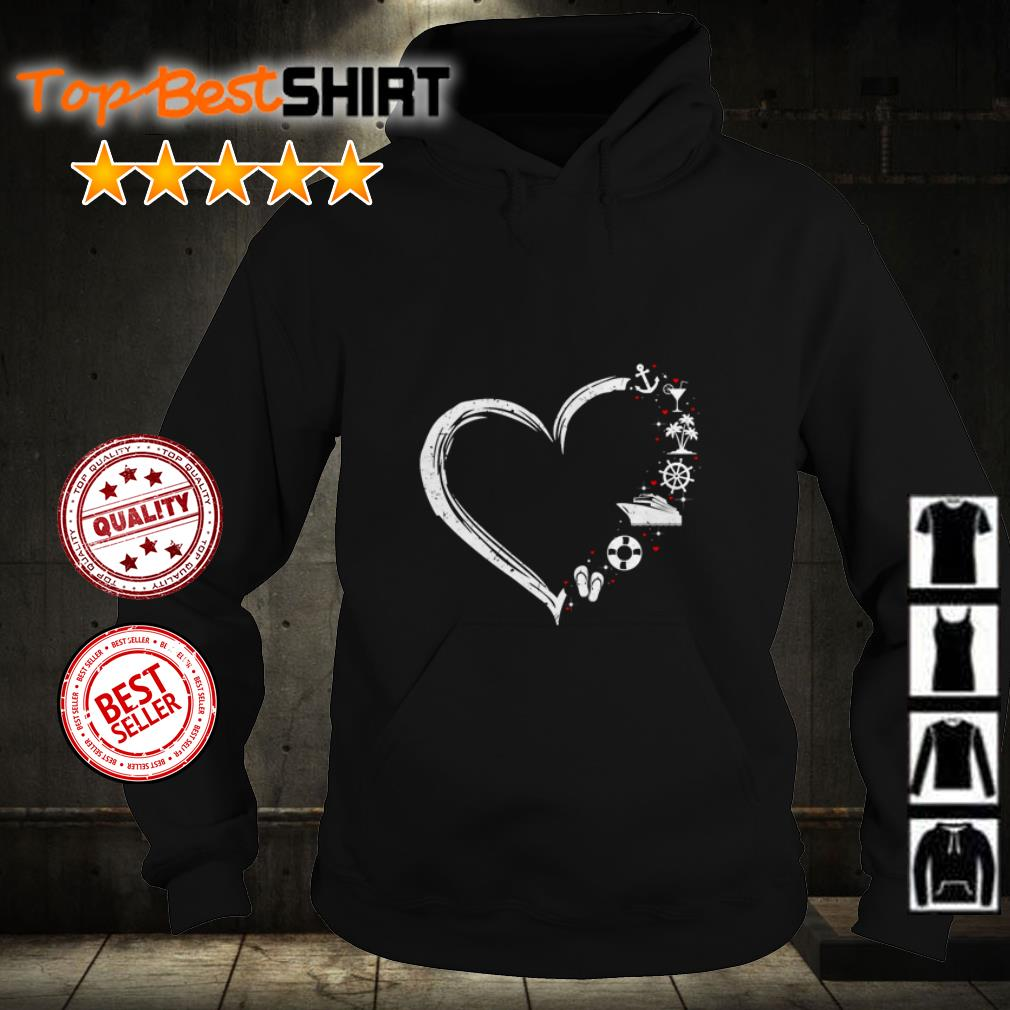 I Love Heart Boating T-Shirt