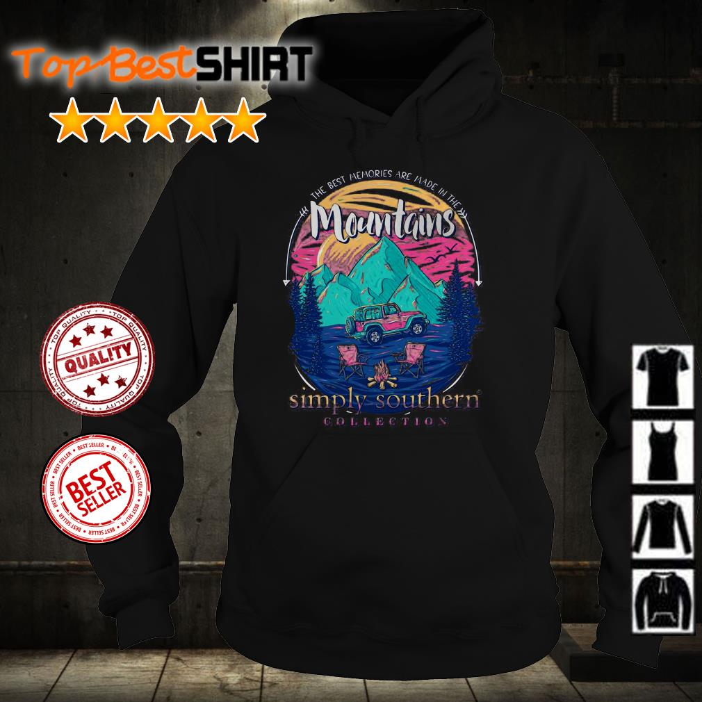 The best memories are made in the mountains shirt