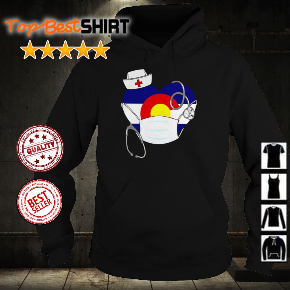 Heart New Mexico nurse shirt