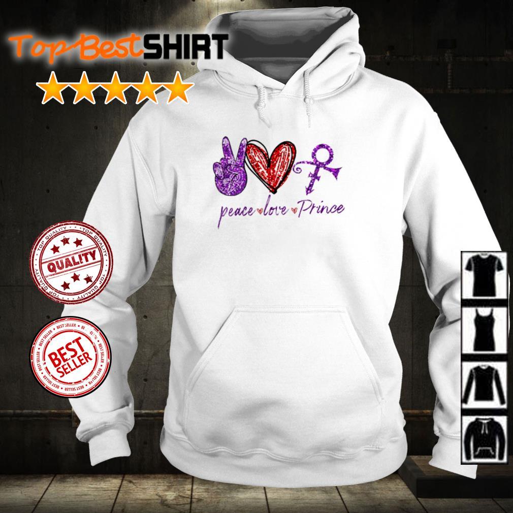 Peace love and Prince diamond shirt