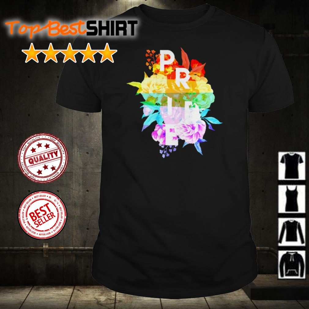 Official Pride flowers shirt