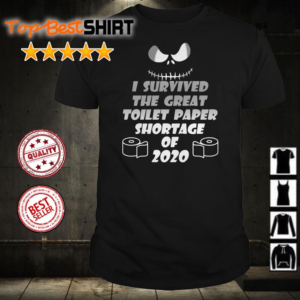 I survivde the great toilet paper shortage of 2020 shirt