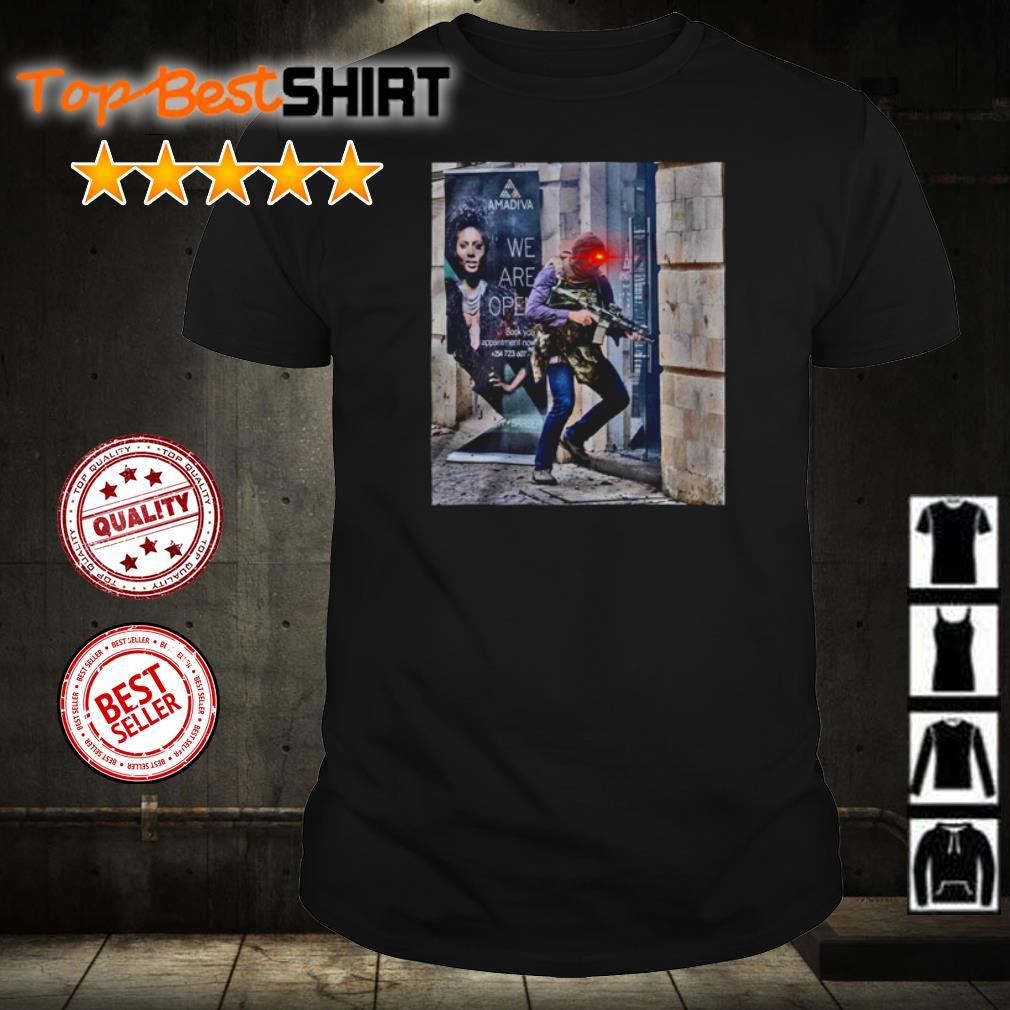 Terrorist attack the store shirt