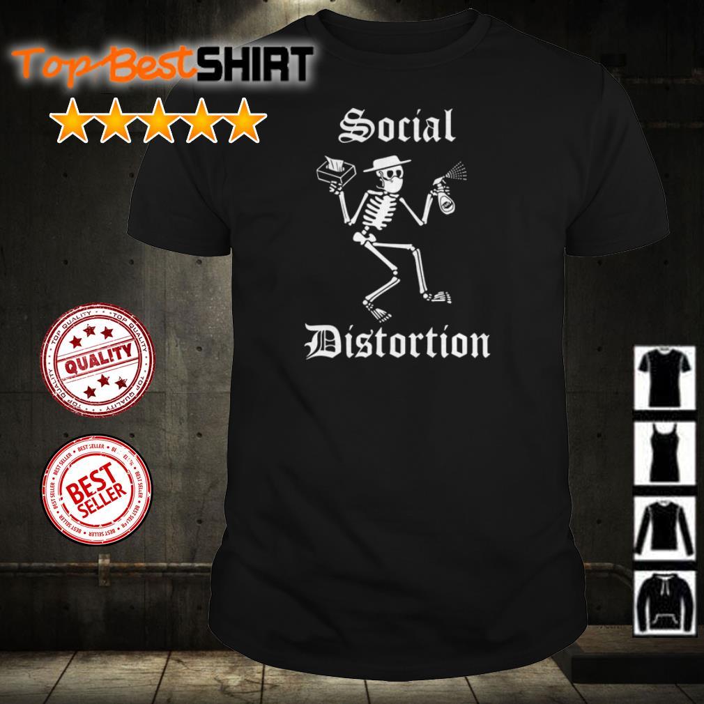 Skeleton Social Distortion shirt