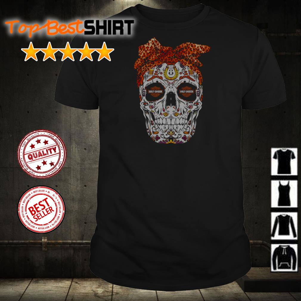 Skull Motor Harley Davidson shirt