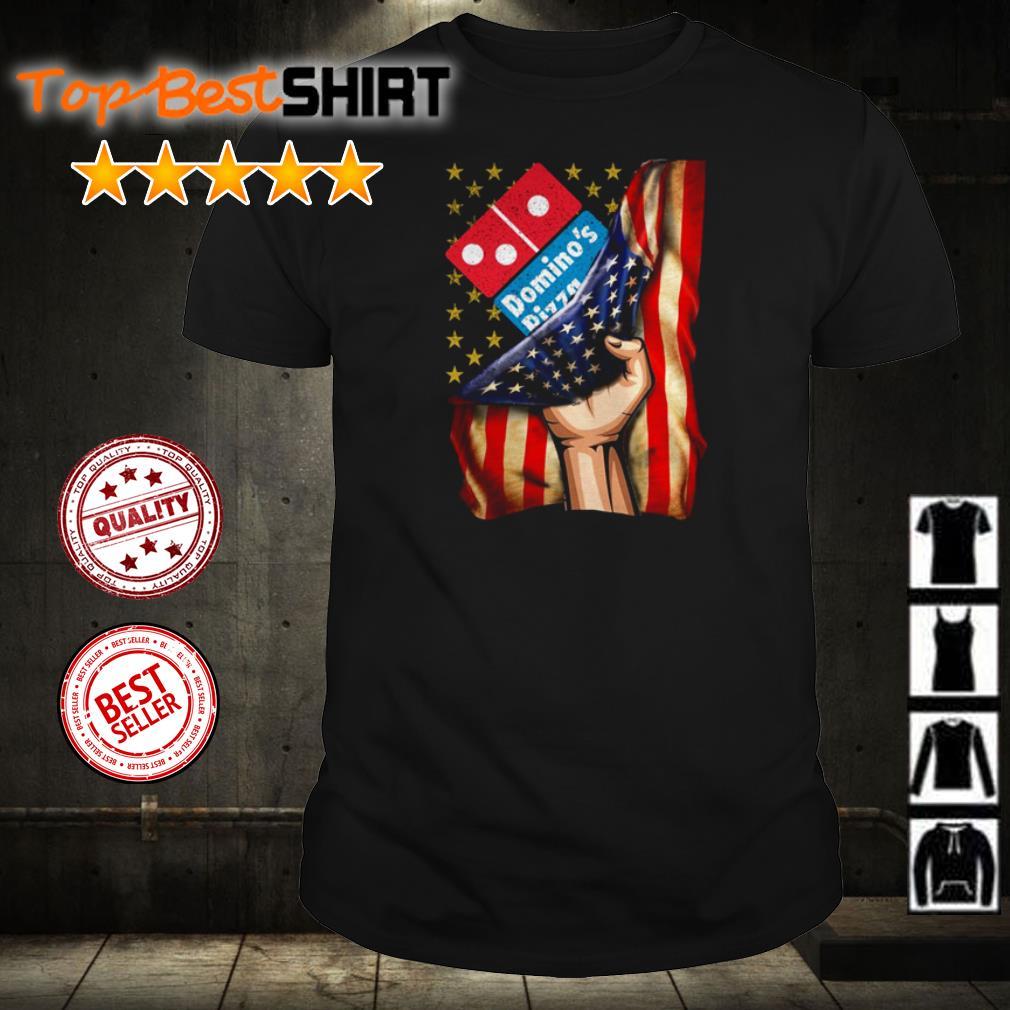 Domino's Pizza America Flag shirt