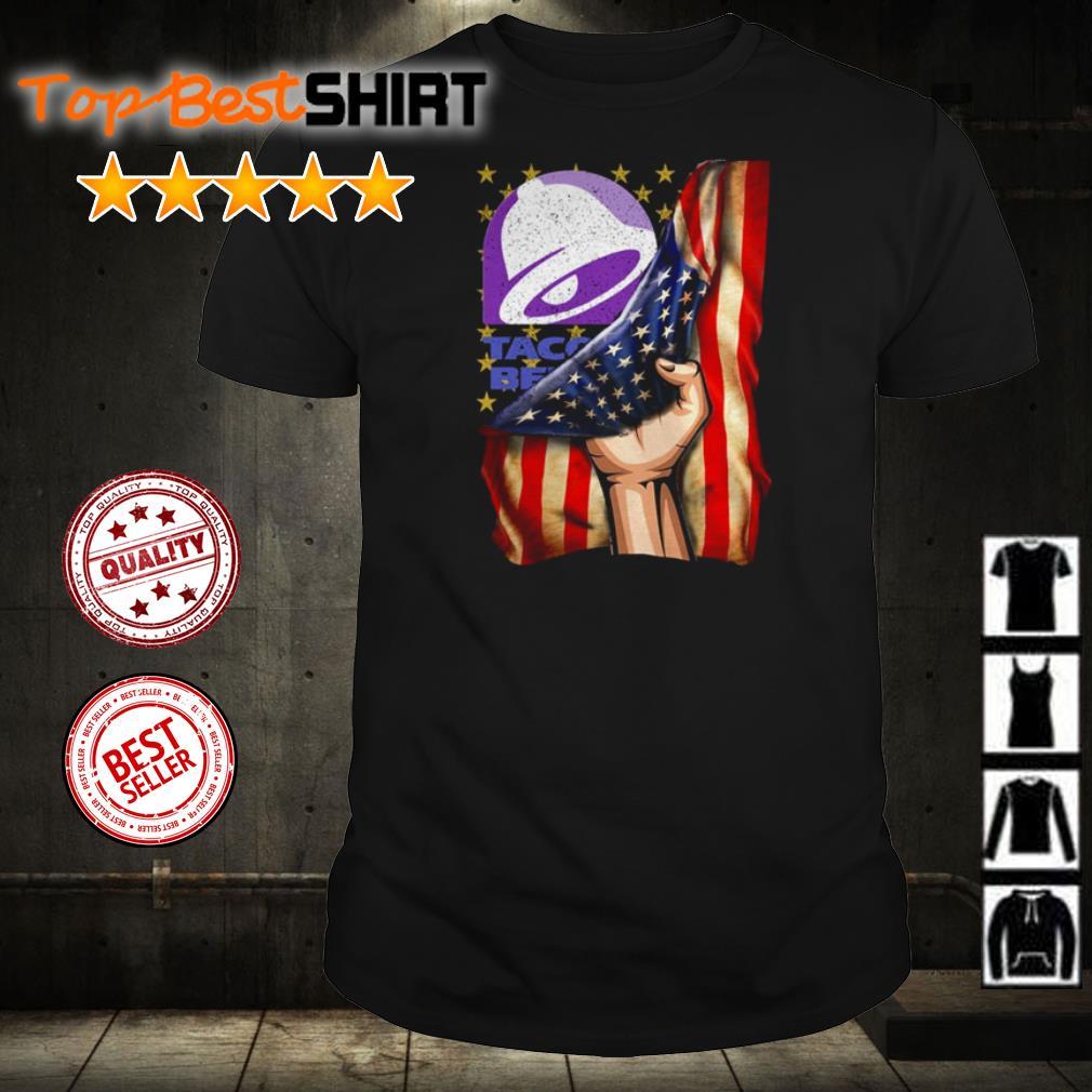 Taco Bell America Flag shirt