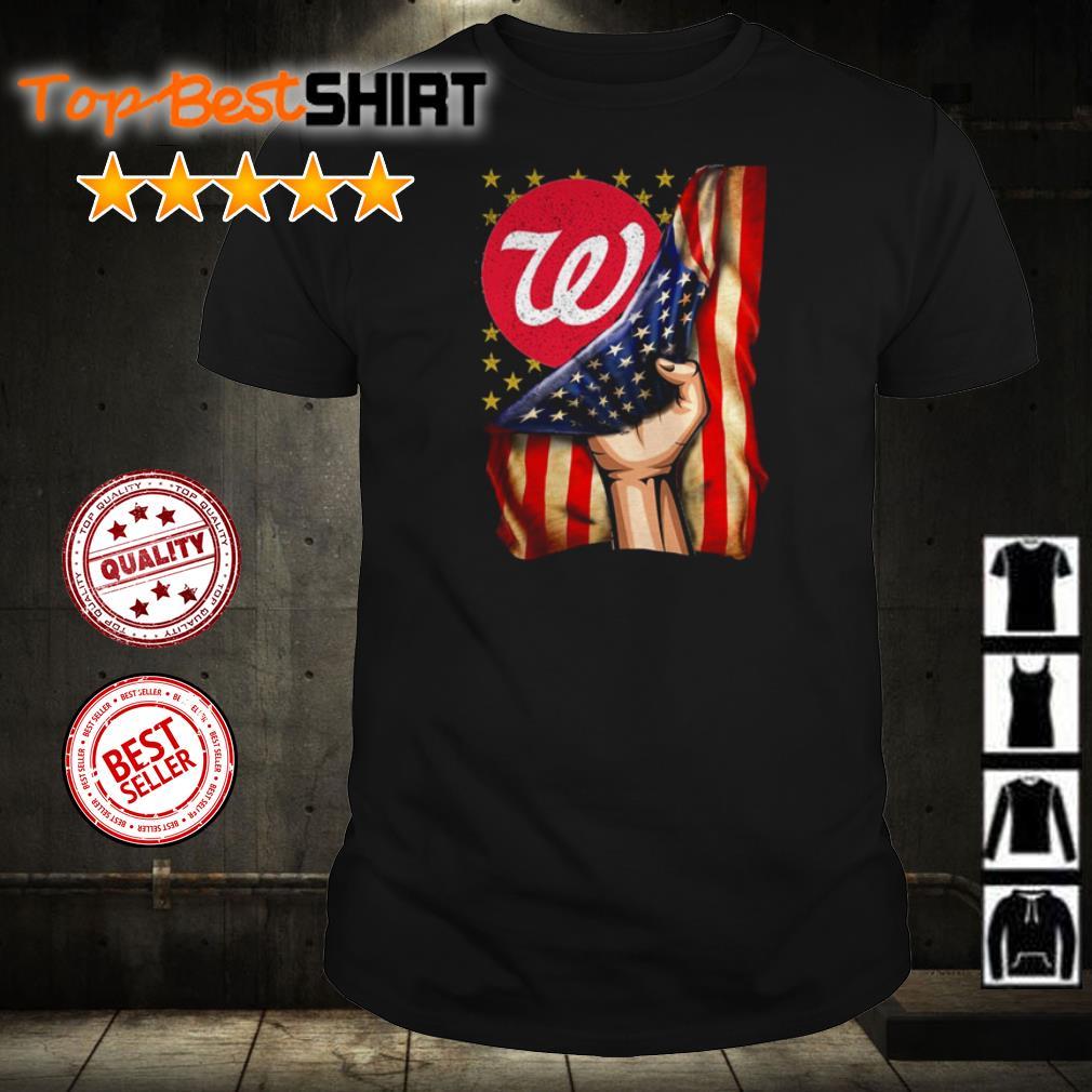 Walgreens America Flag shirt
