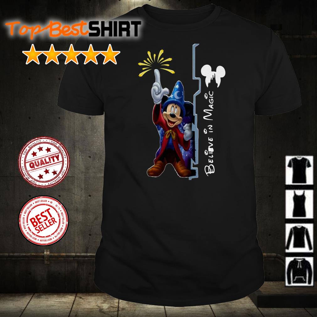 Disney Mickey Mouse believer magic shirt