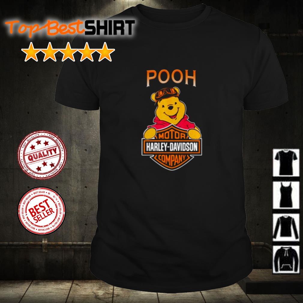 Pooh Motor Harley Davidson Company shirt