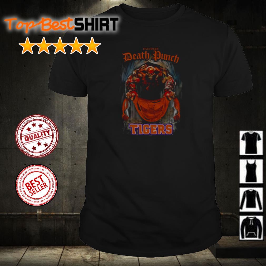 Five Finger Death Punch Clemson Tigers shirt