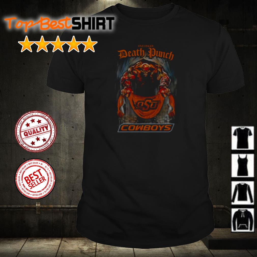 Five Finger Death Punch Oklahoma State Cowboys shirt