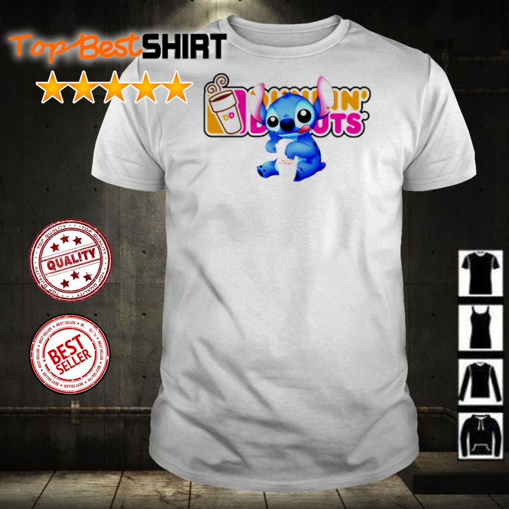 Stitch love Dunkin' Donuts shirt