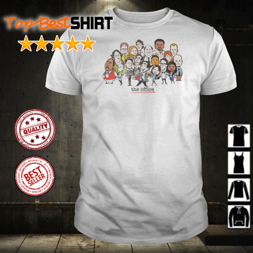 The Office chibi character shirt