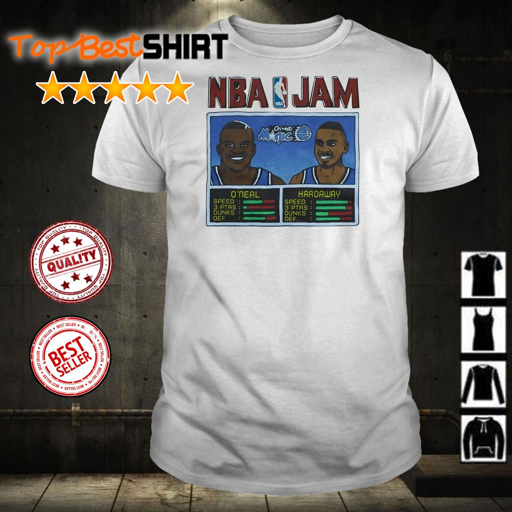 NBA Jam Orlando Magic shirt