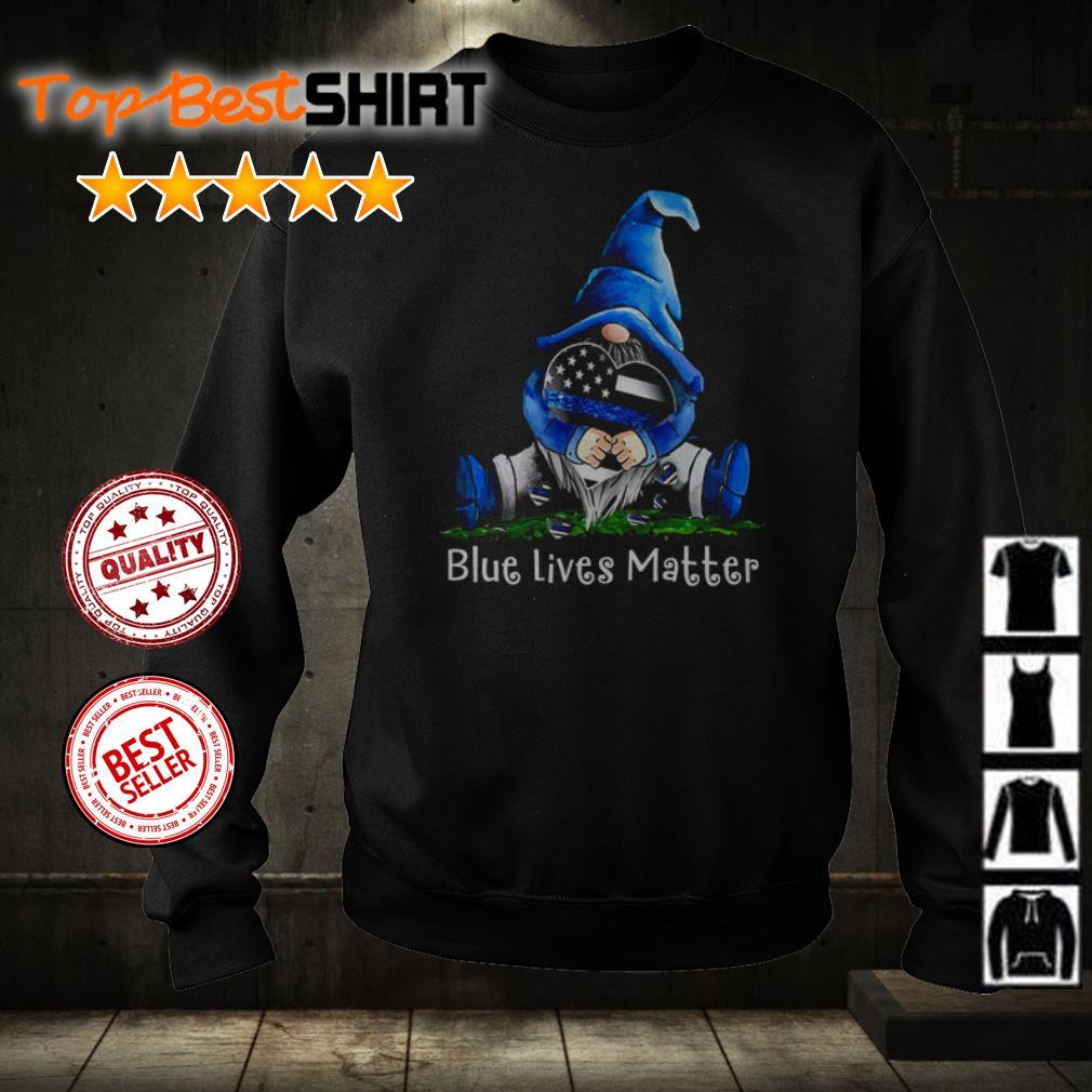 Gnome hug blue lives matter shirt