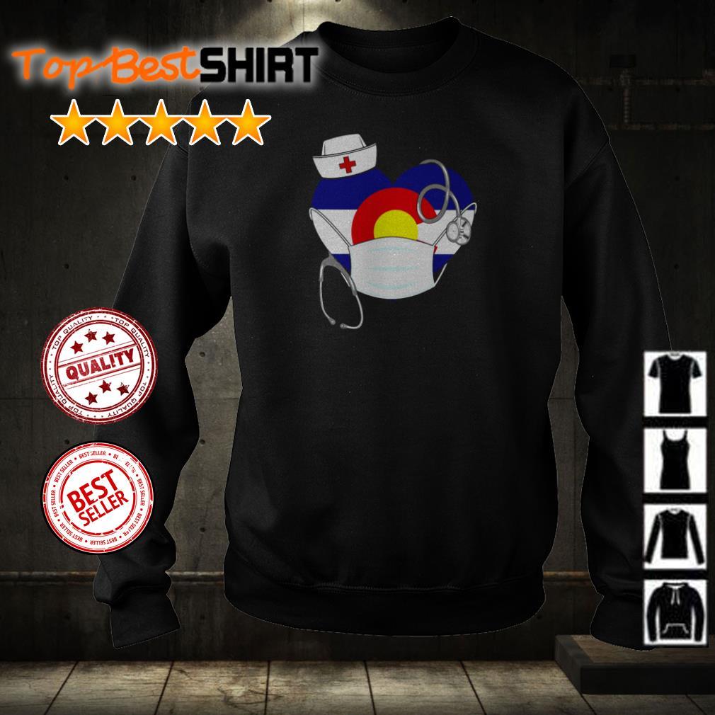 Heart Chicago Cubs nurse shirt