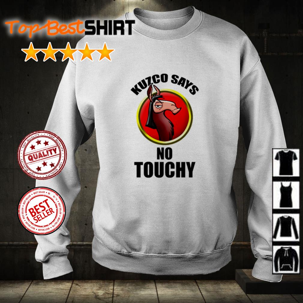 Kuzco says no touchy shirt