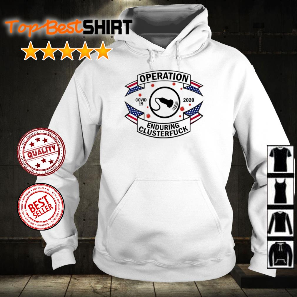 Diagnostic Medical Sonographer operation enduring clusterfuck shirt