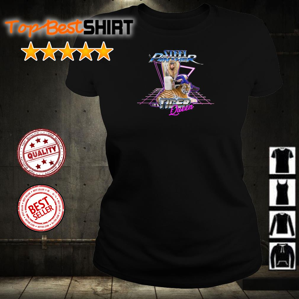 Steel Panther tiger queen shirt