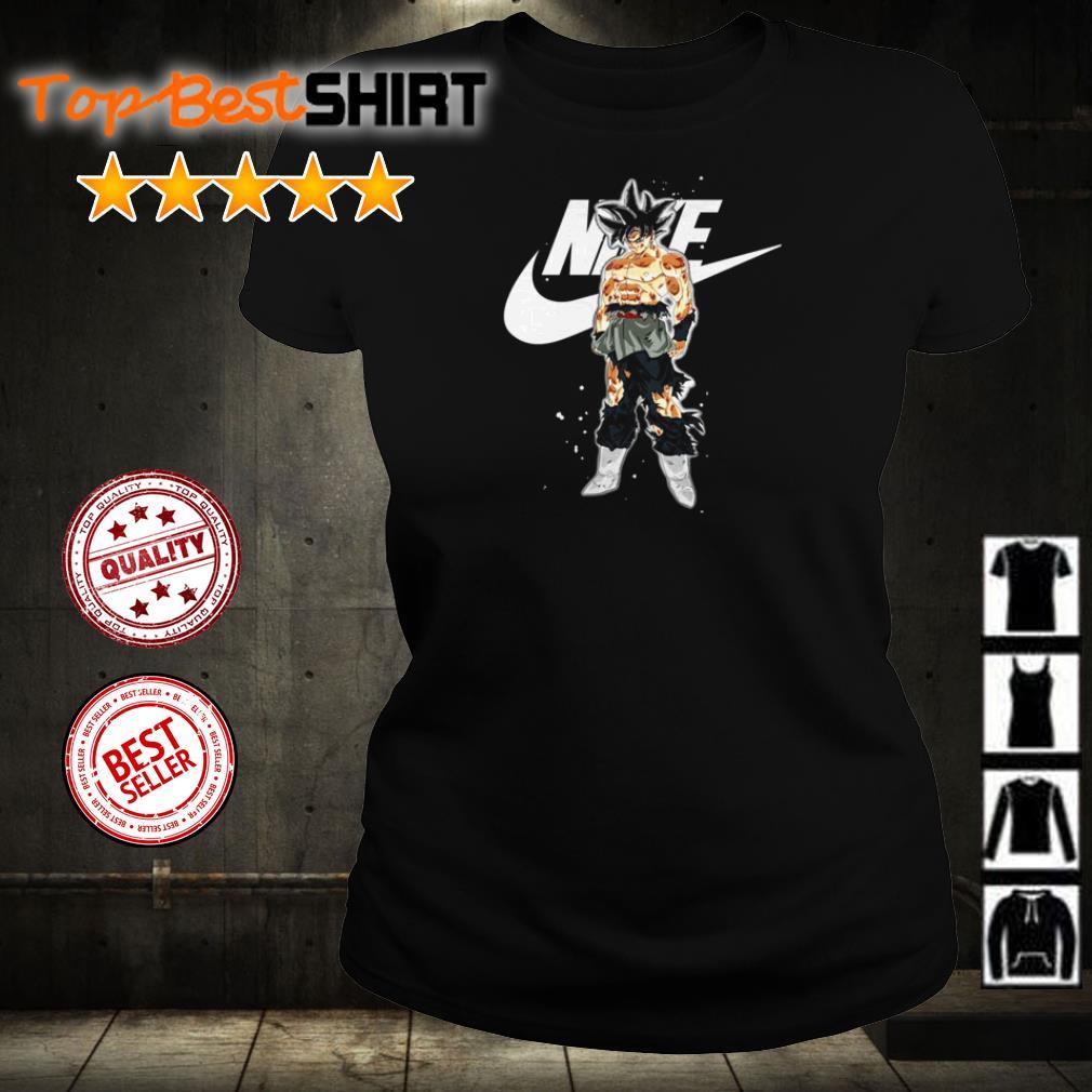 Dragon Ball Goku Nike shirt