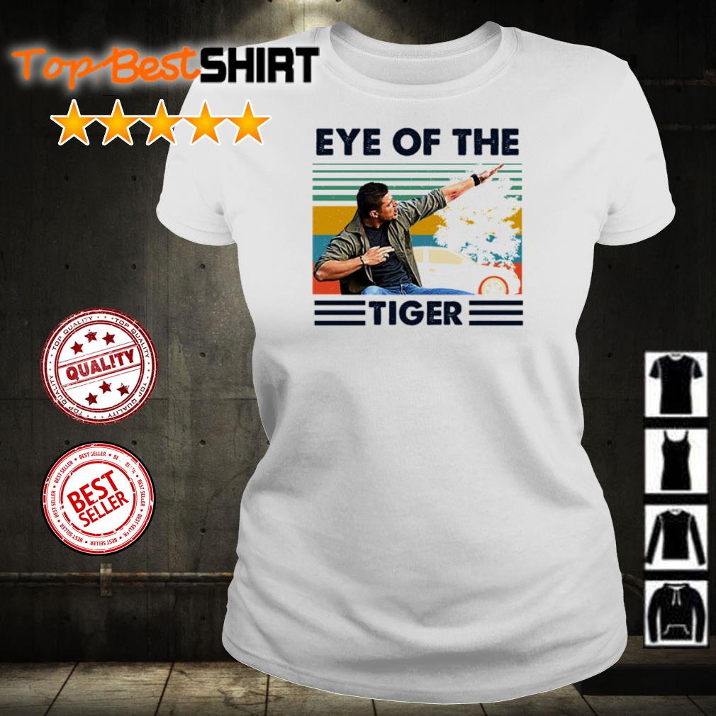 Official eye of the tiger vintage shirt