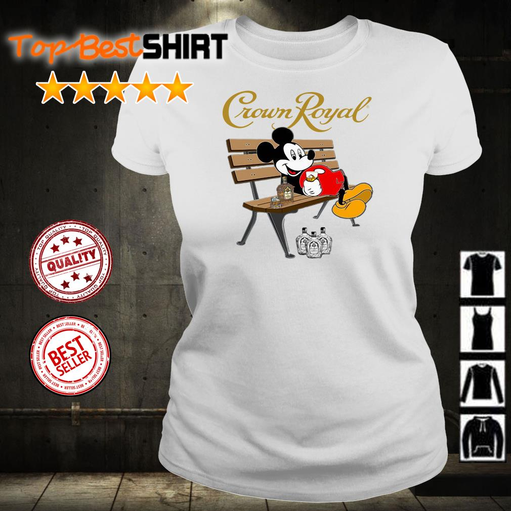 Mickey Mouse drink Crown Royal shirt