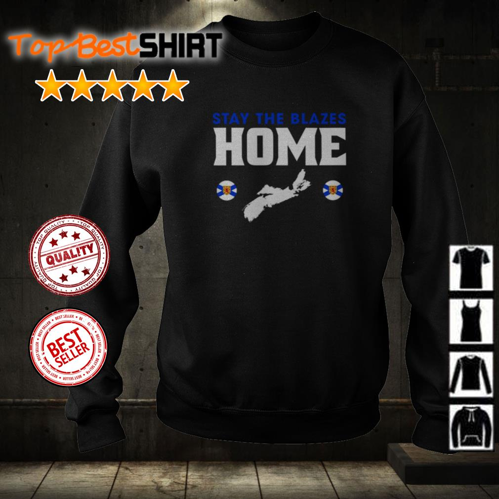 Nova Scotia Baseball stay the blazes home sweater