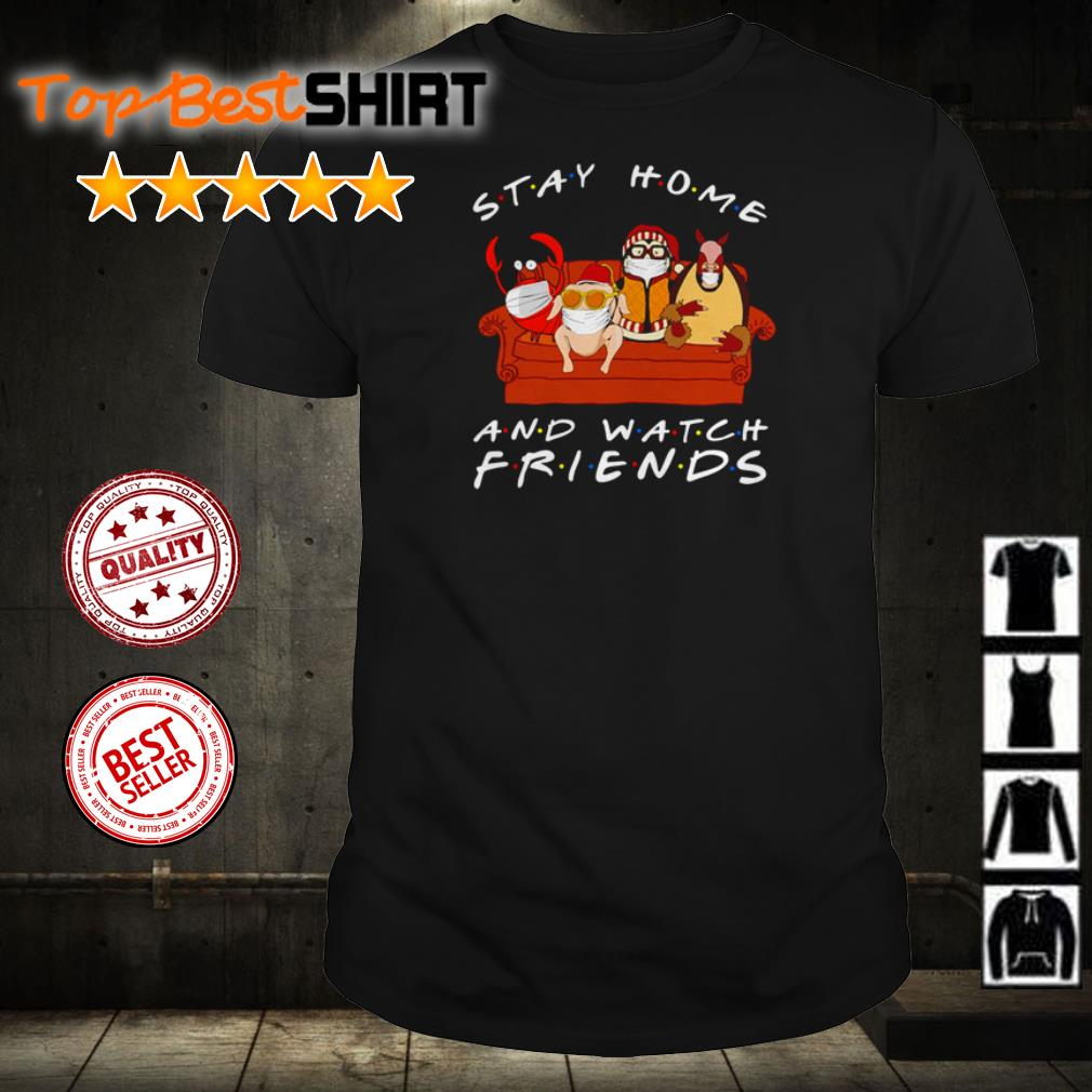Animal stay home and watch Friends TV Show shirt