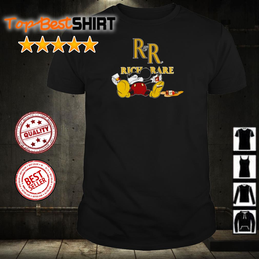 Mickey Mouse drink Rich Rare shirt