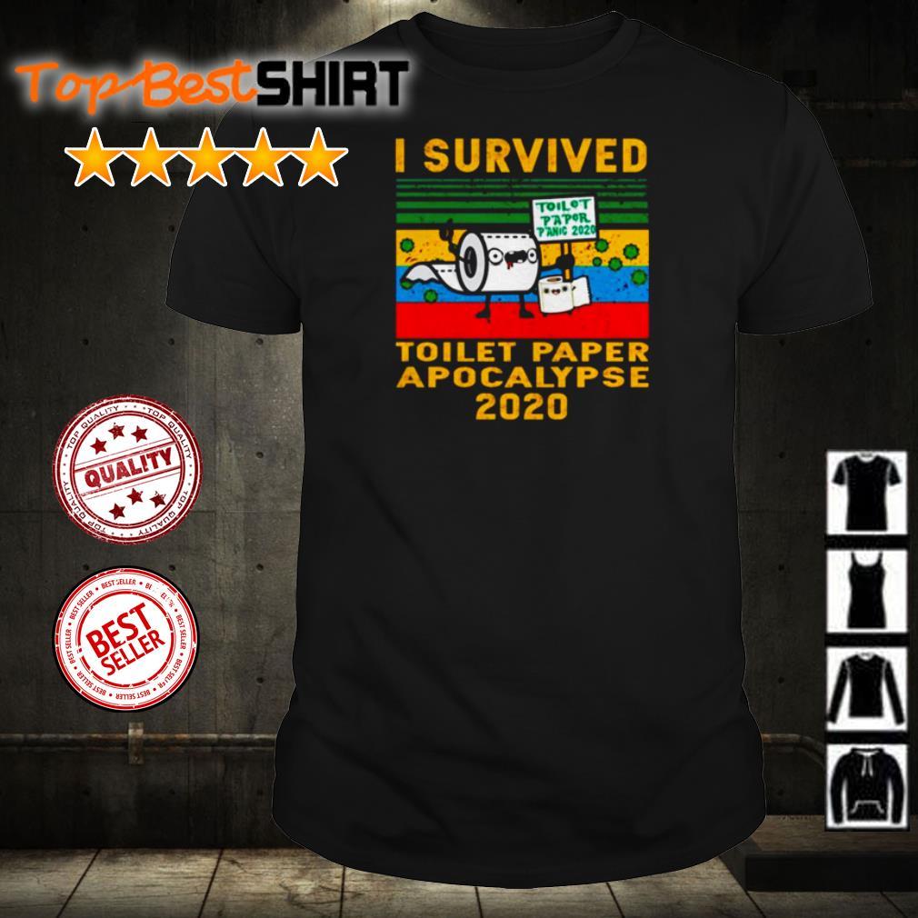 I survived toilet paper apocalypse 2020 vintage shirt