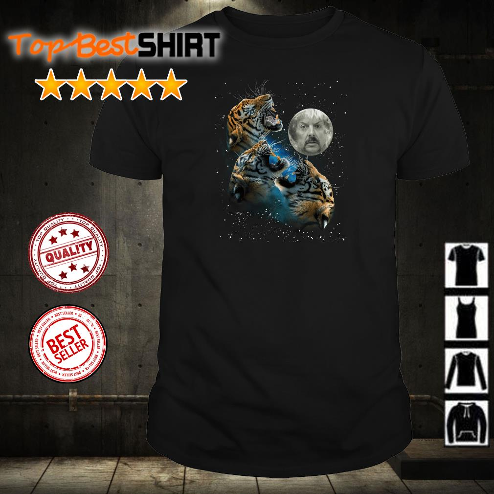 Joe Exotic the moon and Tiger the galaxy shirt