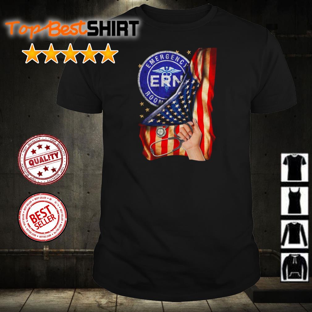 Emergency Room American Flag shirt