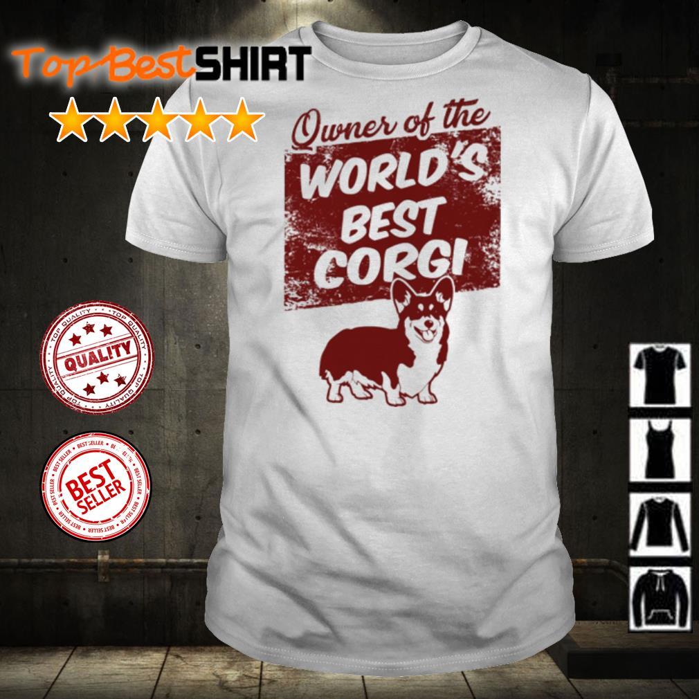 Owner of the world's best Corgi shirt