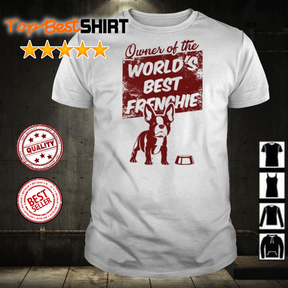 Owner of the world's best Frenchie shirt