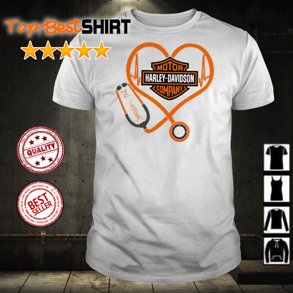 Nurse heartbeat love Motor Harley Davivson Company shirt
